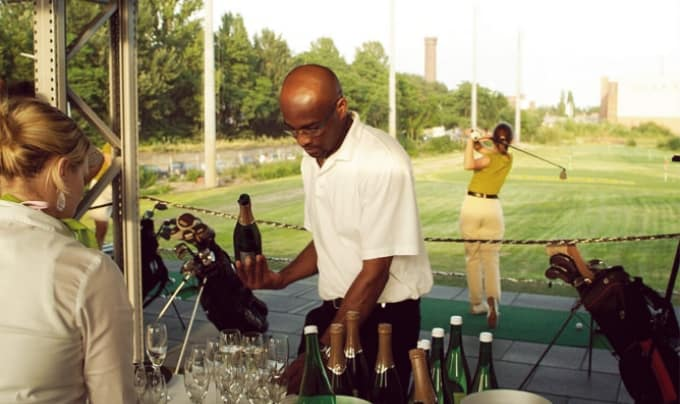 Getränke-Service für aktive Gäste