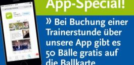 App Special TRainerstunden