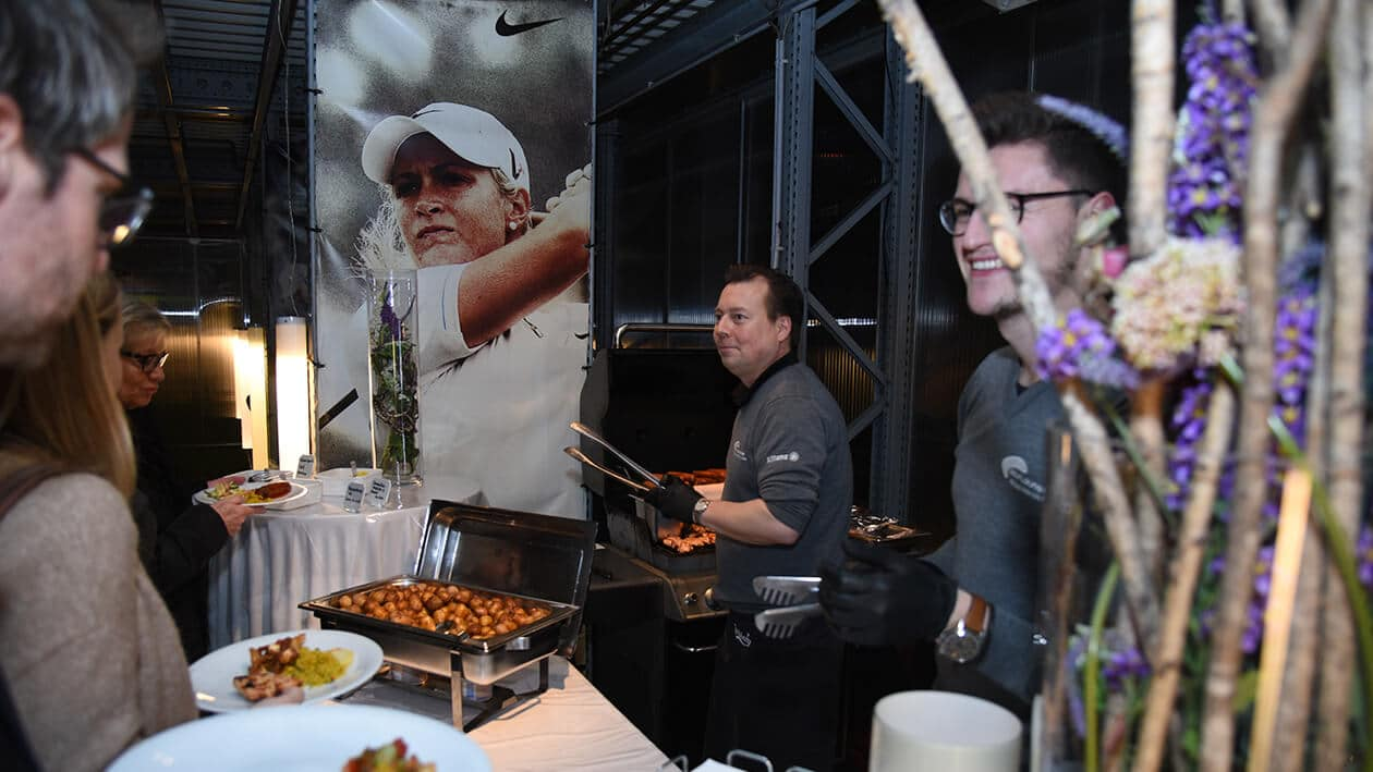 Event in der Golf Lounge